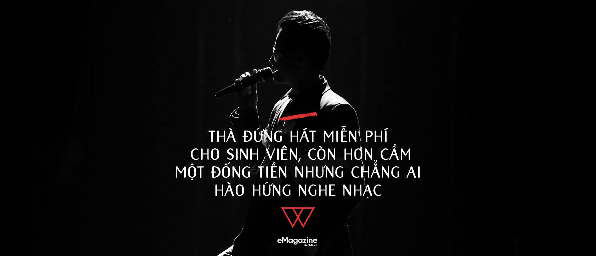 Hà Anh Tuấn: Không có nhạc sang hay hèn, thị trường hay không, chỉ có nhạc được làm tử tế hay cẩu thả - Ảnh 15.
