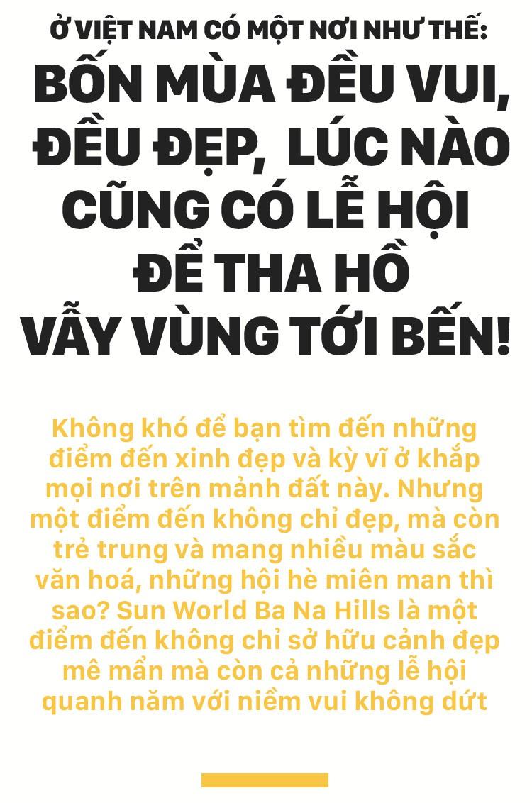 Ở Việt Nam có một nơi như thế: Bốn mùa đều vui, đều đẹp, lúc nào cũng có lễ hội để tha hồ vẫy vùng tới bến! - Ảnh 1.