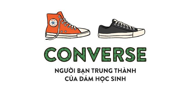 Vans hay Converse - từ những đôi giày thời học sinh ai cũng có, cho đến thứ phụ kiện thần thánh của bất cứ fashionista nào! - Ảnh 4.