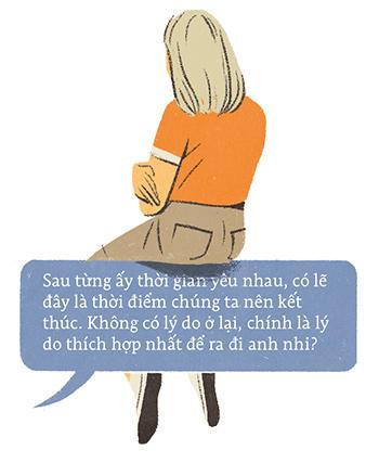 Khi tình yêu thời nay trục trặc, chúng ta cãi nhau và chia tay bằng tin nhắn, chẳng ai còn chọn cách ngồi lại nói thẳng với nhau... - Ảnh 8.