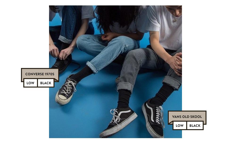 Vans hay Converse - từ những đôi giày thời học sinh ai cũng có, cho đến thứ phụ kiện thần thánh của bất cứ fashionista nào! - Ảnh 15.