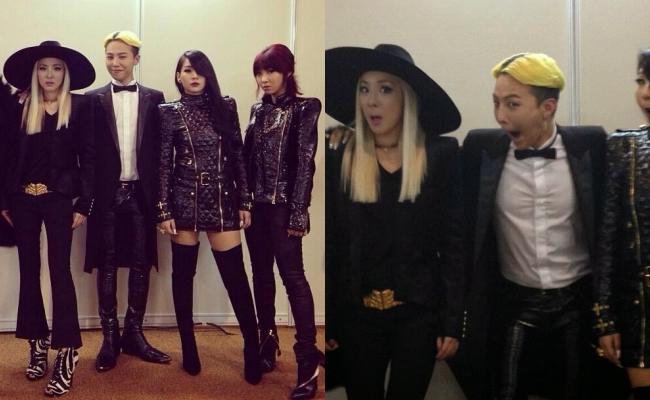 Nhìn G-Dragon và Dara mùi mẫn như thế này, trái tim fangirl làm sao mà không loạn nhịp cho được! - Ảnh 14.