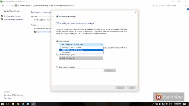 Sợ dính WannaCry? Đây là cách tạo điểm phục hồi hệ thống trên Windows 10 để đề phòng - Ảnh 12.
