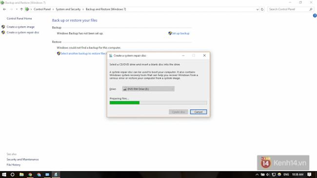 Sợ dính WannaCry? Đây là cách tạo điểm phục hồi hệ thống trên Windows 10 để đề phòng - Ảnh 5.