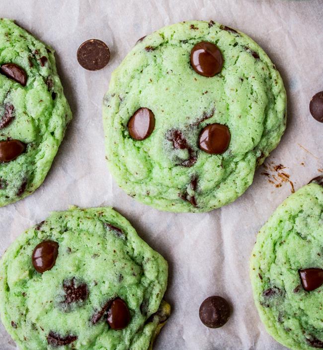 Tan chảy với công thức bánh cookie chocolate chip bạc hà vừa quen vừa lạ - Ảnh 6.
