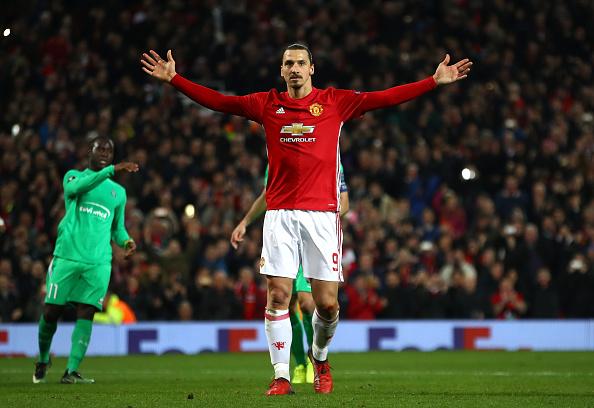 Ibrahimovic lập hat-trick, Man Utd thắng tưng bừng tại Europa League - Ảnh 14.