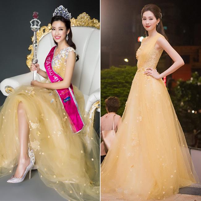 Trước khi thiết kế váy cho tân HHHV, Hoàng Hải vốn đã là NTK của mọi Hoa hậu Việt - Ảnh 25.