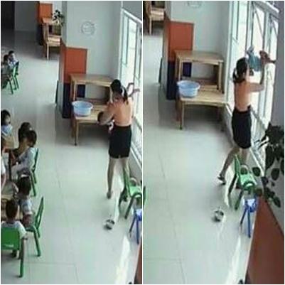 Người nhà của em bé bị cô hiệu trưởng dốc ngược đầu ra cửa sồ: Chỉ mong cô giáo rút kinh nghiệm - ảnh 1