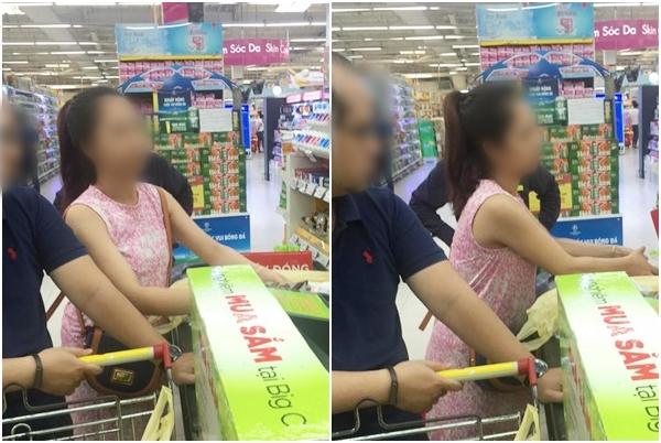 Lời nói và hành động xấu xí của cô gái xinh đẹp ở siêu thị khiến người lớn phải buồn lòng 2