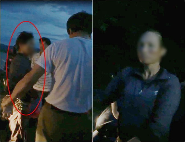 Nghệ An: Người dân vây bắt một phụ nữ nghi có ý định bắt cóc trẻ em - Ảnh 1.