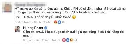 Phạm Hương đáp trả anti-fan thế nào khi bị chê giả tạo, không có gì để thị phạm cho Hoàng Thùy? - Ảnh 2.