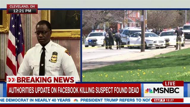 Nghi phạm giết người rồi livestream trên Facebook đã tự tử sau khi bị cảnh sát rượt đuổi - Ảnh 2.