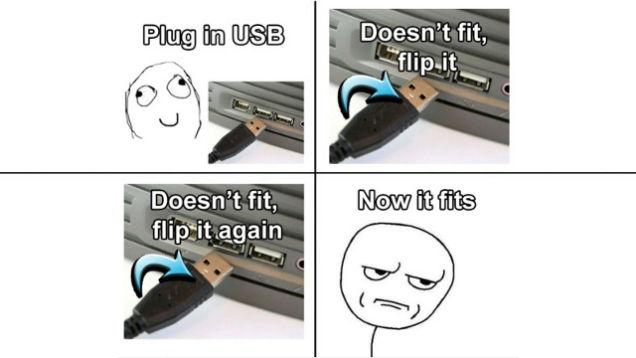 Cắm USB lần nào cũng ngược, đây là cách để bạn cắm trăm phát trăm trúng - Ảnh 1.