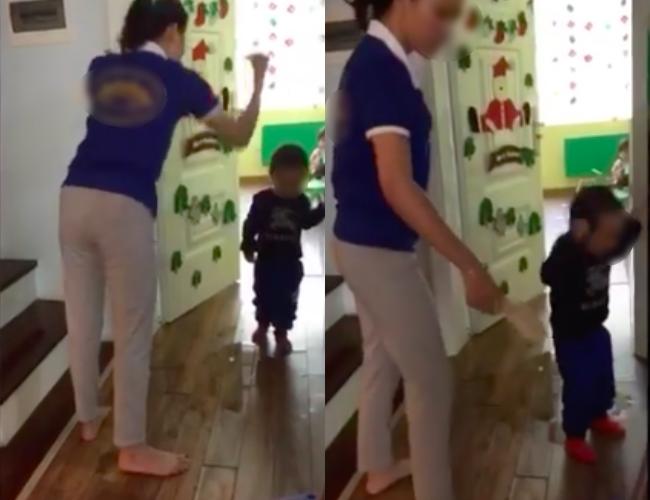 Vụ giáo viên dùng dép đánh, nhéo tai và chửi mắng học sinh: Người quay clip có xích mích với cô giáo - ảnh 1