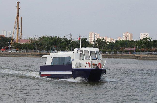 Tháng 6, TPHCM sẽ khai thác tuyến buýt đường sông đầu tiên - ảnh 1