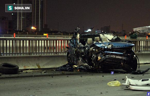 Cô gái tử vong trong vụ xe sang Range Rover gặp nạn trên <a target='_blank' href='http://www.phunuvagiadinh.vn/tag/cau-sai-gon'>cầu Sài Gòn</a> là Trung úy Công an - Ảnh 1.