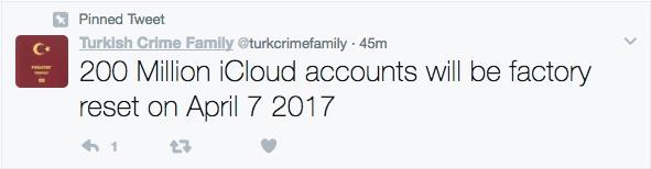 Hacker tuyên bố sẽ xóa sạch 200 triệu tài khoản iCloud vào ngày 7/4 tới nếu Apple không đưa tiền chuộc - Ảnh 2.