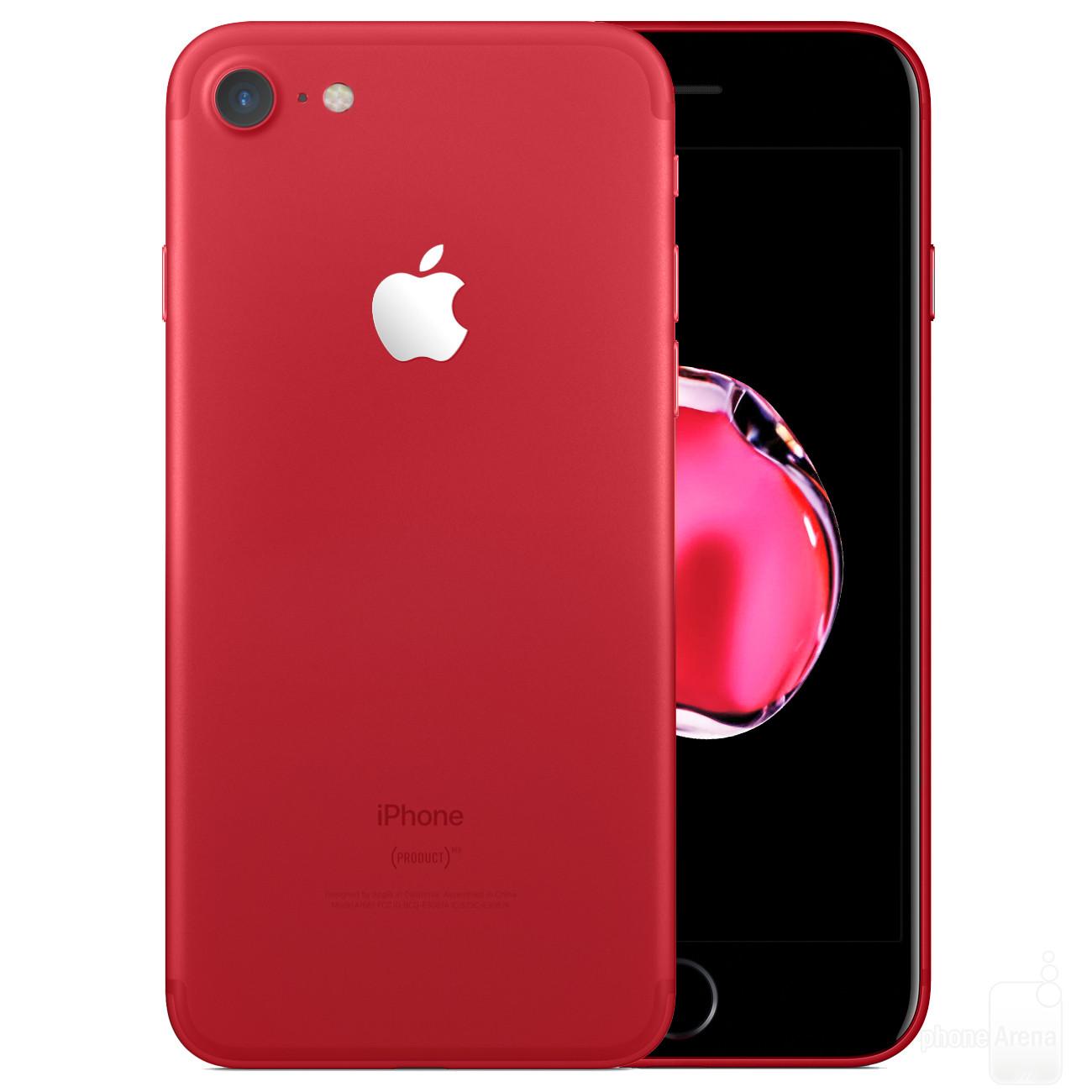 Kết quả hình ảnh cho iphone 7 đỏ