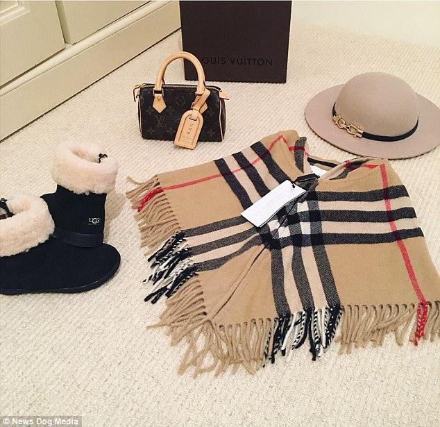 Mẹ trẻ chi bạo sắm đồ Louis Vuitton cho con gái diện gây tranh cãi - Ảnh 3.
