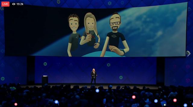 Facebook ra mắt phiên bản đầu tiên của mạng xã hội thực tế ảo Spaces - Ảnh 1.