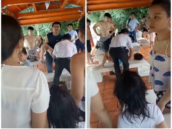 Hà Nội: Clip bé trai đuối nước ở bể bơi, hàng trăm người nhưng không ai nhận ra- Ảnh 2.