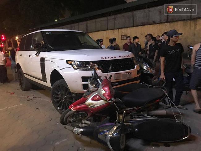 Khởi tố diễn viên điện ảnh trộm Range Rover gây tai nạn liên hoàn ở Hà Nội - Ảnh 1.