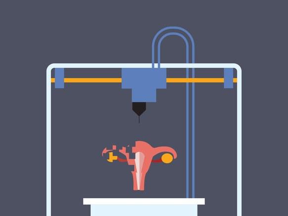 Nhiều phụ nữ vô sinh sẽ tìm lại được niềm vui làm mẹ khi công nghệ in 3D buồng trứng này phát triển thêm 5 năm nữa - Ảnh 2.
