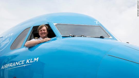 Vua Hà Lan Willem-Alexander. Ảnh: KLM