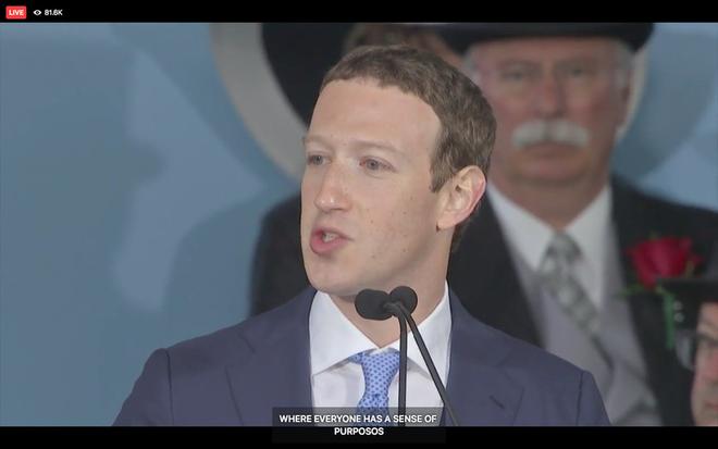 Mark Zuckerberg biểu diễn tính năng chuyển giọng nói thành văn bản để livestream diễn văn Tốt nghiệp, kết quả thì ôi thôi thảm họa không tin được - Ảnh 2.