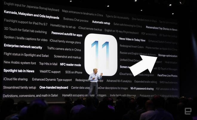 Tính năng mới này của iOS 11 sẽ là vị cứu tinh khi iPhone, iPad của bạn hết bộ nhớ trong - Ảnh 1.