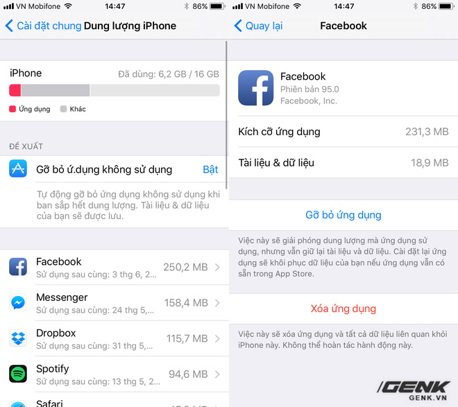 Tính năng mới này của iOS 11 sẽ là vị cứu tinh khi iPhone, iPad của bạn hết bộ nhớ trong - Ảnh 2.