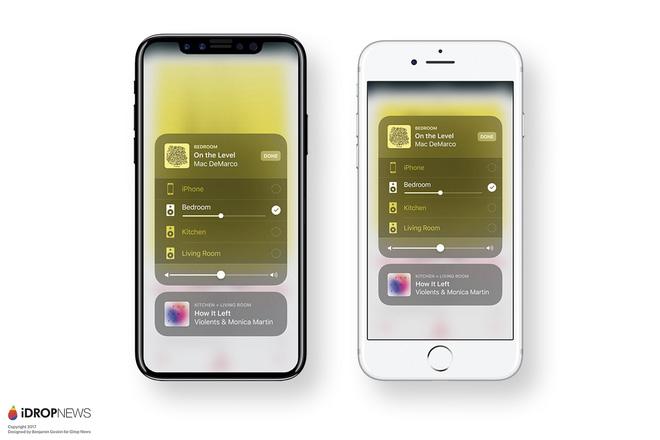 Mãn nhãn với iOS 11 chạy trên iPhone 8 được dựng lại từ tin đồn - Ảnh 2.