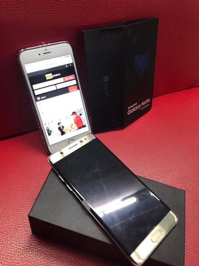 Vỡ mộng với Galaxy Note Fan Edition (Note 7 FE) đầu tiên vừa về đến Việt Nam, giá tận 16 triệu đồng - Ảnh 2.