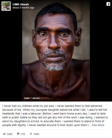 Nuốt nước mắt giấu con nghề mình làm, ông bố nghèo khiến cả nghìn người nghẹn lời vì xúc động - Ảnh 2.