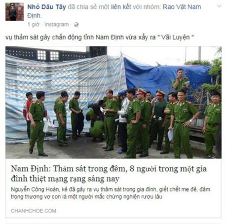 """Kiến nghị xử phạt nhóm """"Rao vặt Nam Định"""" vì đăng tin sai sự thật - ảnh 1"""