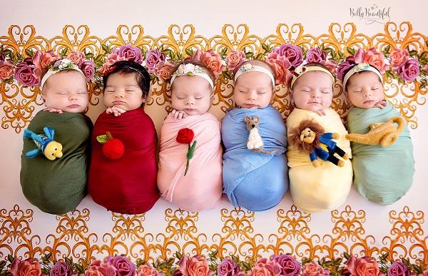 Bộ ảnh đẹp lung linh của các bé sơ sinh vào vai công chúa Disney - Ảnh 5.