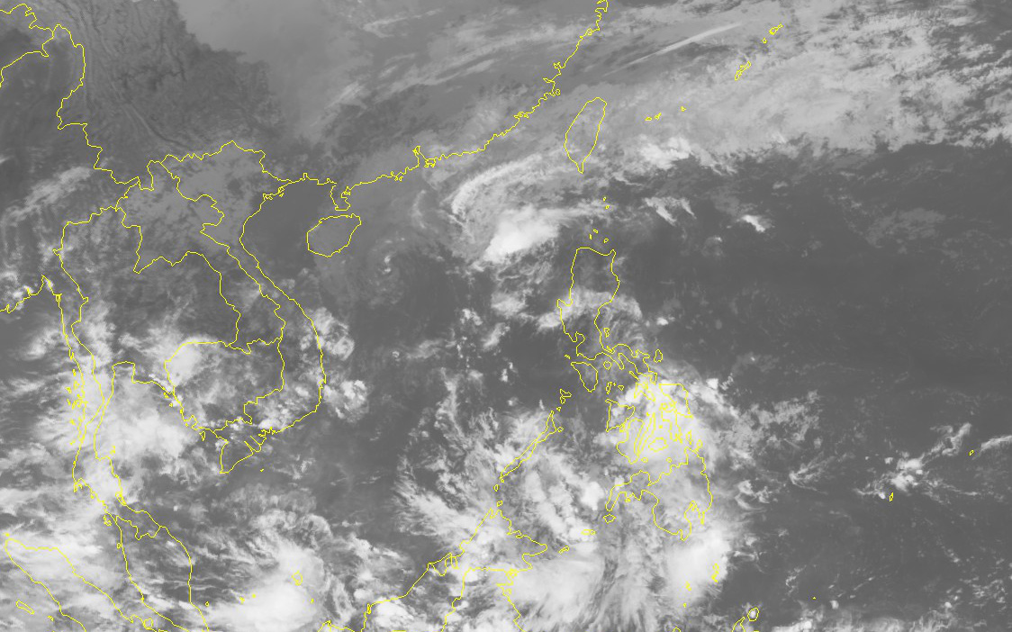 Bão số 13 đã suy yếu thành áp thấp nhiệt đới