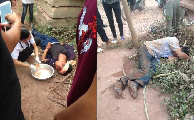 Hai tên trộm gà bị người dân đánh nhập viện vì chống trả - Ảnh 1.