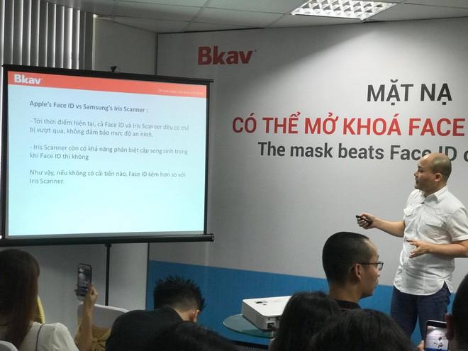 CEO Nguyễn Tử Quảng nhận định bảo mật Face ID kém bảo mật mống mắt của Samsung - Ảnh 2.