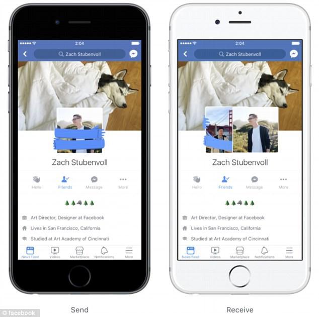 Facebook sắp có cách thả thính mới: Chọc, ôm ấp, nháy mắt nhau ngay trên avatar - Ảnh 1.