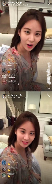 Em út Seo Hyun tiết lộ các thành viên SNSD vẫn thường xuyên gặp nhau - Ảnh 1.