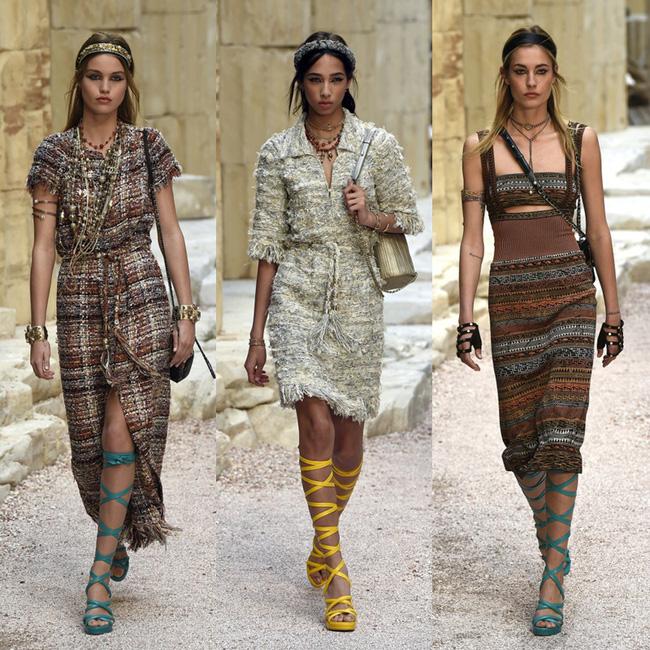 Hết đưa người xem lên vũ trụ, Chanel lại biến runway thành Hy Lạp cổ đại - Ảnh 11.