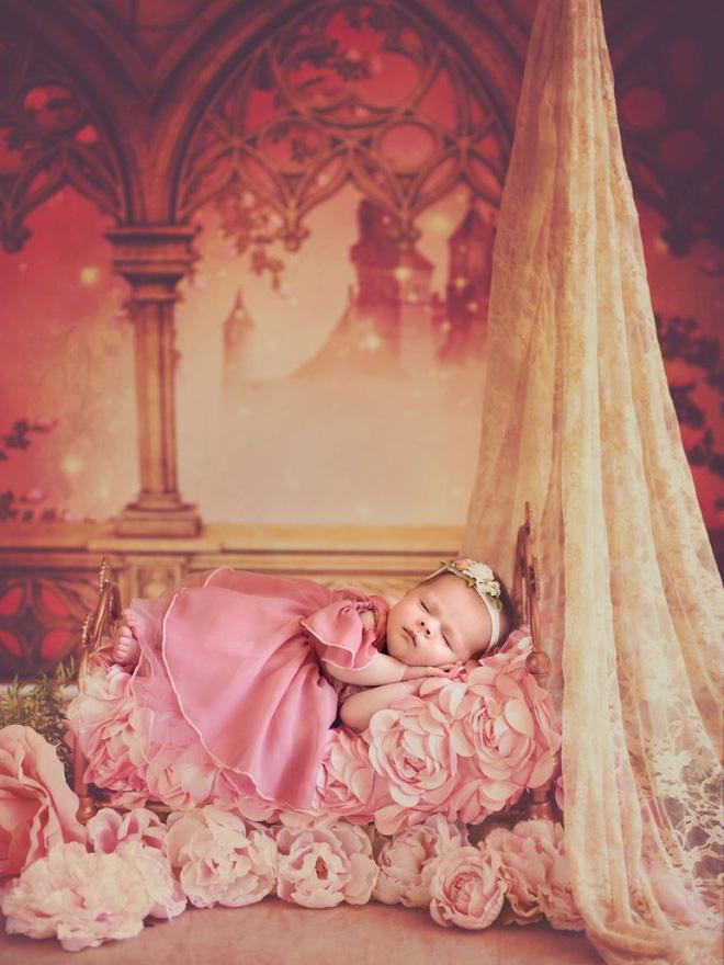 Bộ ảnh đẹp lung linh của các bé sơ sinh vào vai công chúa Disney - Ảnh 21.