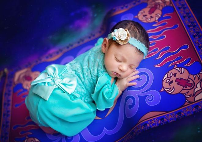 Bộ ảnh đẹp lung linh của các bé sơ sinh vào vai công chúa Disney - Ảnh 23.