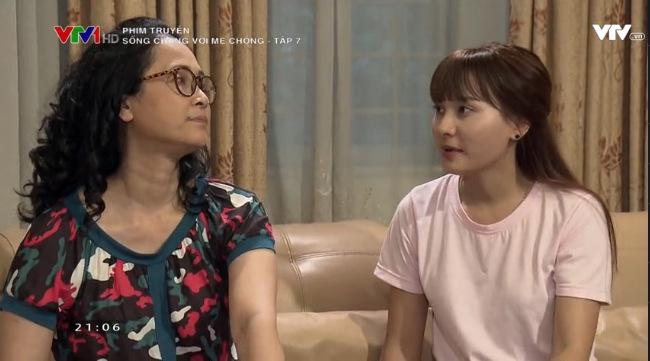 Hai gia đình trái ngược của Vân trong Sống chung với mẹ chồng - Ảnh 3.