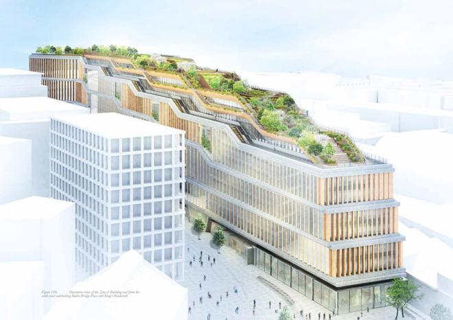 Google lại khiến nhân viên văn phòng trên toàn thế giới ghen tị khi tiết lộ hình ảnh văn phòng mới đẹp như mơ tại London - Ảnh 3.