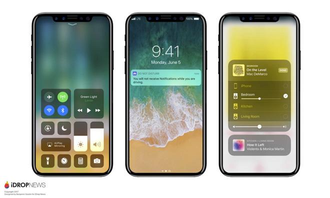Mãn nhãn với iOS 11 chạy trên iPhone 8 được dựng lại từ tin đồn - Ảnh 3.