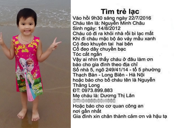 Cô gái trẻ nhẫn tâm lừa bố bé gái bị mất tích gần 1 năm ở Hà Nội để kiếm chác - Ảnh 3.