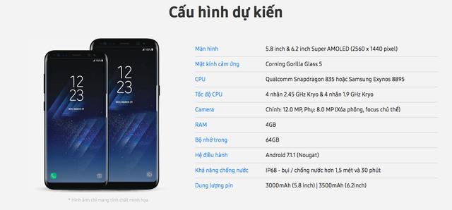 FPT Shop bất ngờ tiết lộ tất tần tật thông tin về Galaxy S8, bao gồm cả giá và thời điểm bán tại Việt Nam - ảnh 4