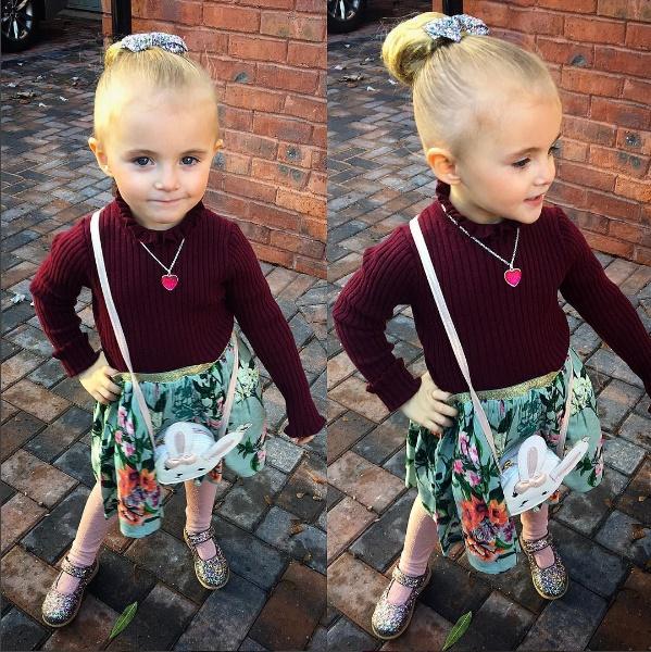 Mẹ trẻ chi bạo sắm đồ Louis Vuitton cho con gái diện gây tranh cãi - Ảnh 5.